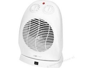 Clatronic HL 3377 Heizlüfter mit Thermostat 2000 Watt weiß