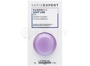 L´Oréal Professionnel Série Expert Powermix Shot Liss Oil Zusatz zur Haarmaske für widerspenstiges Haar 10 ml