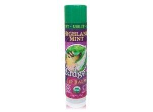 Badger Lip Balm Highland Mint Lippenbalsam 4,2 g
