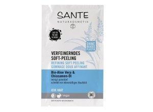 Sante Verfeinerndes Soft Peeling Bio-Aloe Vera & Chiasamen-Öl 8 ml