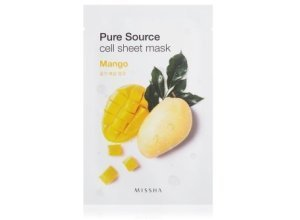 MISSHA Pure Source Cell Sheet Mask Mango Tuchmaske 1 Stk