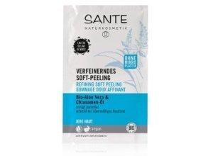 Sante Bio-Aloe Vera & Chiasamen -Extrakt Gesichtspeeling 8 ml