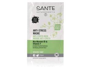 Sante Bio-Mandel-Öl & Vitamin F Gesichtsmaske 8 ml