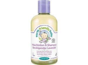 Lansinoh Waschlotion & Shampoo, Beruhigender Lavendel, 250 ml