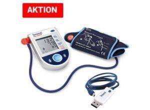 AKTION: Oberarm-Blutdruckmessgerät Hartmann Tensoval duo control mit Analyse-Software für den PC