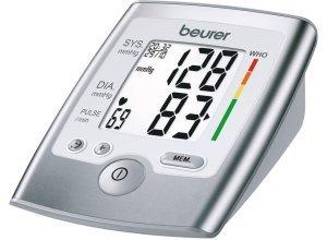 BM 35 Oberarm-Blutdruckmessgerät Beurer grau