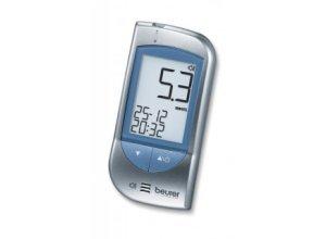 Sprechendes Blutzuckermessgerät Beurer GL 34. Messeinheit mmol/L