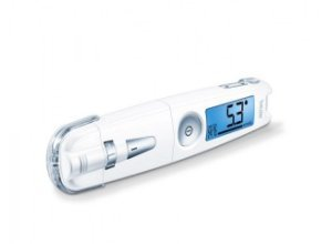 Blutzuckermessgerät Beurer GL 50 mmol/l Pure White