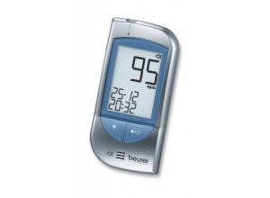 Sprechendes Blutzuckermessgerät Beurer GL 34. Messeinheit mg/dL