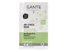 Sante Anti-Stress Maske Bio-Mandel-Öl & Vitamin F 8 ml