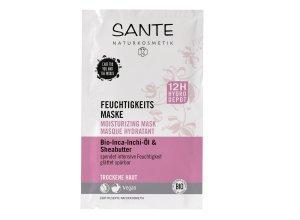 Sante Feuchtigkeits Maske Bio-Inca-Inchi-Öl & Sheabutter 8 ml