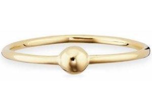 CAÏ Fingerring »caï love, pearl twist, C7336R/90/00«, goldfarben