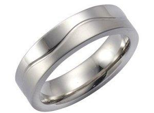 Firetti Ring »Edelstahl«, grau