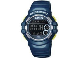 LORUS Chronograph »R2315KX9«, blau