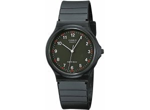 Casio Collection Quarzuhr »MQ-24-1BLLGF«, schwarz