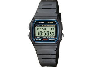 Casio Collection Herrenchronograph F-91W-1YEF