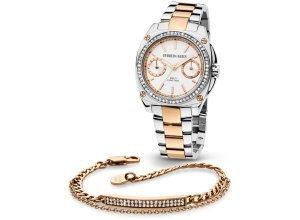 Damen Uhr & Armband im Set Dyrberg/Kern rosegold