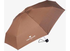 Taschen-Regenschirm, Unisex, dark brown, Größe: OneSize