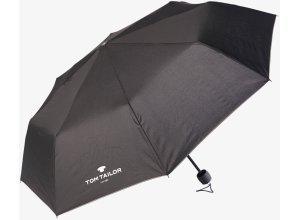 klassischer Regenschirm, Unisex, black, Größe: OneSize