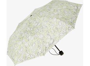 gemusterter Taschen-Regenschirm, Unisex, lime, Größe: OneSize