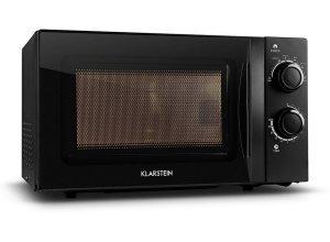 KLARSTEIN Mikrowellen-Ofen schwarz mit Drehteller 20L 700W »myWave«, schwarz