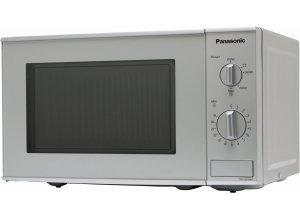 Panasonic Mikrowelle NN-E221MMEPG, Mikrowelle, 1250 W, 20L Garraum, silberfarben