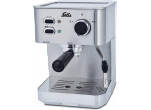 SOLIS OF SWITZERLAND Espressomaschine SOLIS Primaroma, Typ 1010, silberfarben