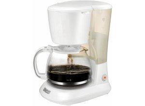 Unold Filterkaffeemaschine 28020 Easy White, 1,2l Kaffeekanne, weiß