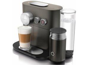 Nespresso Kapselmaschine NESPRESSO Expert&Milk EN355.GAE, mit Aeroccino Milchaufschäumer, grau