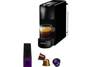 Nespresso Kapselmaschine NESPRESSO XN1108 Essenza Mini, schwarz