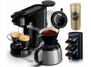 Senseo Kaffeepadmaschine SENSEO® Switch HD7892/60, Papierfilter, schwarz