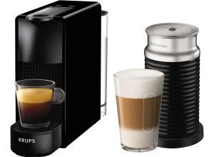 Nespresso Kapselmaschine XN1118 Essenza Mini Bundle, schwarz