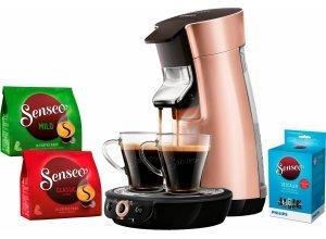 Senseo Kaffeepadmaschine SENSEO® Viva Café HD7831/30, inkl. Gratis-Zugaben im Wert von 14,- UVP, braun