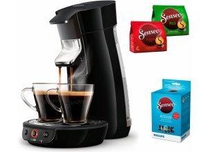 Senseo Kaffeepadmaschine SENSEO® Viva Café HD7829/60, inkl. Gratis-Zugaben im Wert von 14,- UVP, schwarz