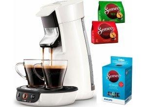 Senseo Kaffeepadmaschine SENSEO® Viva Café HD7829/00, inkl. Gratis-Zugaben im Wert von 14,- UVP, weiß