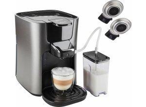 Senseo Kaffeepadmaschine HD6574/50 Latte Duo, silberfarben