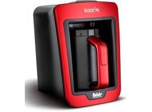 FAKIR Mokkamaschine Kaave 9174003, 0,28l Kaffeekanne, beleuchteter Kochraum, rot