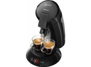 Senseo Kaffeepadmaschine HD6554/68 New Original, mit Crema Plus und Kaffeestärkewahl, schwarz