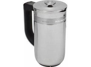 KitchenAid Kaffeebereiter Artisan 5KCM0512EES, mit eingebauter Waage und Timer, silberfarben