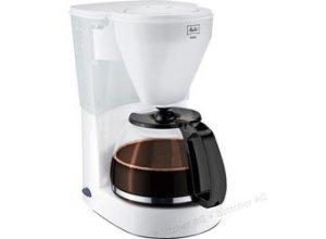 Melitta Kaffeemaschine 1010-01, Easy, Kunststoff, mit Glaskanne, weiß, für 10 Tassen