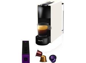 Nespresso Kapselmaschine NESPRESSO XN1101 Essenza Mini, weiß