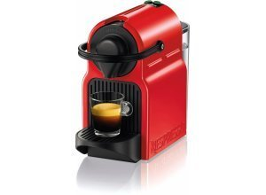 Nespresso Kapselmaschine NESPRESSO Inissia XN1005, rot