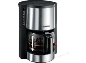 Severin KA 4312 Kaffeemaschine 10 Tassen Edelstahl