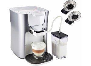 Senseo Kaffeepadmaschine HD6574/20 Latte Duo, silberfarben