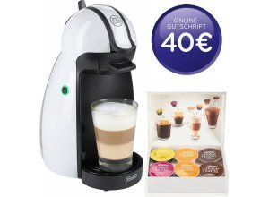 Nescafé Dolce Gusto Kapselmaschine NESCAFÉ® Dolce Gusto® EDG 100.W, inkl. 40€ Online-Gutschrift, weiß