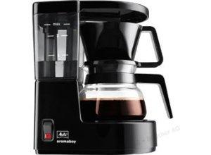 Melitta Kaffeemaschine 1015-02, Aromaboy, Kunststoff, mit Glaskanne, für 12 Tassen, schwarz