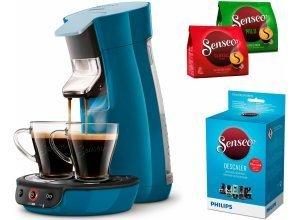 Senseo Kaffeepadmaschine SENSEO® Viva Café HD7829/70, inkl. Gratis-Zugaben im Wert von 14,- UVP, grün
