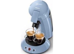 Senseo Kaffeepadmaschine HD6554/70 New Original, mit Crema Plus und Kaffeestärkewahl, blau
