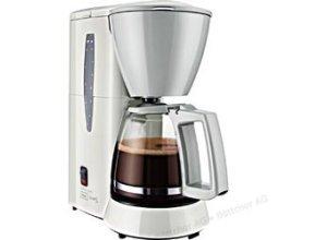 Melitta Kaffeemaschine Single 5, M 720-1/1, Kunststoff, für 5 Tassen, weiß / grau