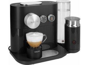 Nespresso Kapselmaschine NESPRESSO XN6018 Expert&Milk, inkl. Aeroccino³ Milchaufschäumer und Bluetooth, schwarz